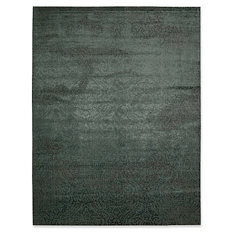 image of Nourison Valliant Nightfall Area Rug in Green