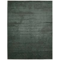 Nourison Nightfall 12' x 15' Machine Woven Area Rug in Antique Green