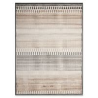 "Nourison Studio 5'3"" x 7'3"" Machine Woven Multicolor Area Rug"