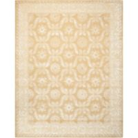 """Nourison Symphony 3'6"""" x 5'6"""" Hand Tufted Area Rug in Gold"""