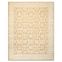 "Nourison Symphony 5'6"" x 7'5"" Hand Tufted Area Rug in Gold"