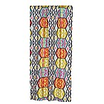 Levtex Home Moesha 84-Inch Rod Pocket Window Curtain Panel in Navy/Red