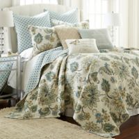 Levtex Home Victoria Reversible King Quilt Set in Grey
