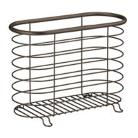 Interdesign Forma Newspaper and Magazine Rack in Bronze