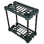 Stalwart Compact Garden Tool Storage Rack in Green