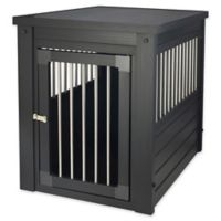 InnPlace II™ Medium Pet Crate and End Table in Espresso