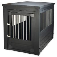 InnPlace II™ Large Pet Crate and End Table in Espresso
