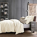 Kenneth Cole Reaction Home Mineral Full/Queen  Duvet Cover in Ivory