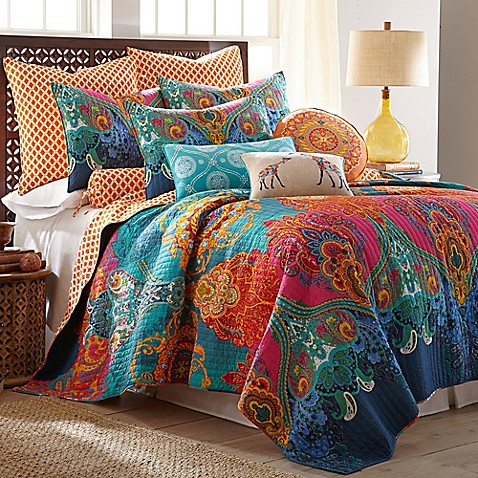 Levatex Home Madalyn Reversible Quilt Set Bed Bath Amp Beyond