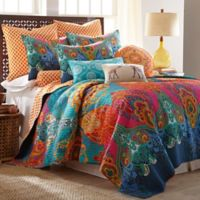 Levtex Home Madalyn Twin Reversible Quilt Set in Blue