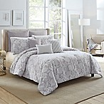 Bridgestreet Tayla Full/Queen Comforter Set in Grey