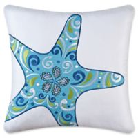 Imperial Coast Starfish Square Throw Pillow