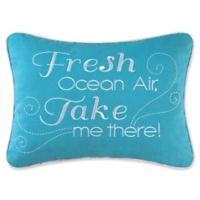 Imperial Coast Fresh Rectangle Throw Pillow