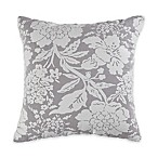 Bridgestreet Tayla Square Throw Pillow in Grey