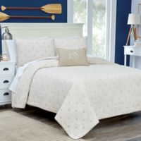 Southern Tide® Skipjack Reversible Full/Queen Quilt in Stone