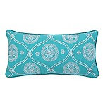 Levtex Home Madalyn Embroidered Oblong Throw Pillow in Teal