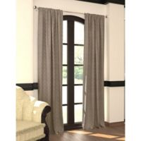Designers' Select™ 108-Inch Emerson Rod Pocket/Back Tab Window Curtain Panel in Taupe