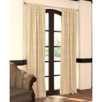 Designers' Select™ 84-Inch Emerson Rod Pocket/Back Tab Window Curtain Panel in Champagne
