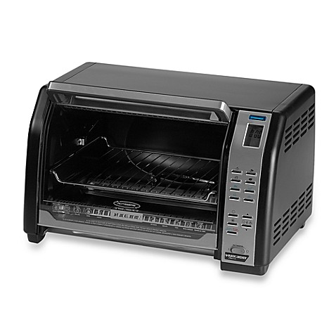 Black & Decker Digital Rotisserie Convection Oven Bed Bath & Beyond