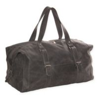 Piel Leather® Alaska Satchel with Buckles in Charcoal