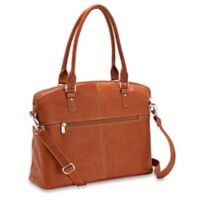 Piel® Leather Slim Executive 15.5-Inch Computer Case in Saddle
