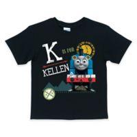 Size 10/12 Thomas & Friends Short Sleeve T-Shirt in Black