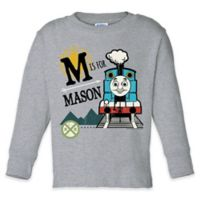 "Thomas & Friends™ ""Is For"" Size 2T Long Sleeve T-Shirt in Grey"