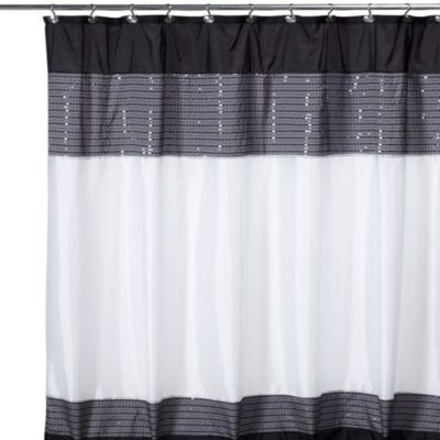 buy 72 inch x 96 inch fabric shower curtain from bed bath beyond. Black Bedroom Furniture Sets. Home Design Ideas