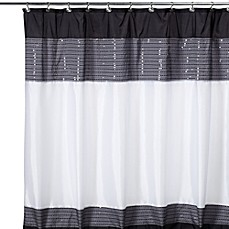 xanadu fabric shower curtain