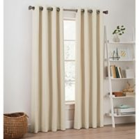 Priella 63-Inch Grommet Top Window Curtain Panel in Ivory