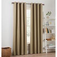 Priella 63-Inch Grommet Top Window Curtain Panel in Linen