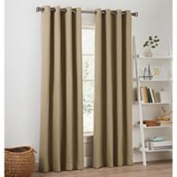 Priella 84-Inch Grommet Top Window Curtain Panel in Linen