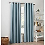 Priella 95-Inch Grommet Top Window Curtain Panel in Chambray