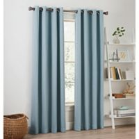Priella 84-Inch Grommet Top Window Curtain Panel in Chambray