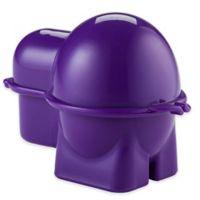 Hutzler® Egg To-Go Food Storage in Purple