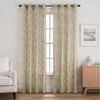 Weston Harlequin 95-Inch Grommet Top Window Curtain Panel in Multicolor