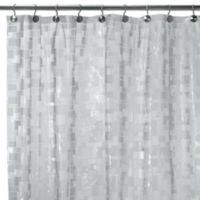 Ice Cubes Vinyl 70 Inch W X 72 L Shower Curtain