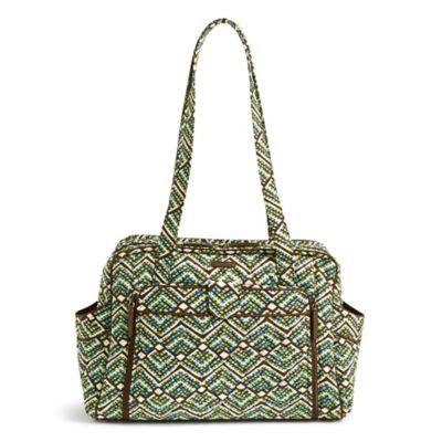 Shoulder Bags Vera Bradley Rain Forest Stroll Around Baby Bag