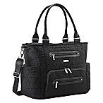 JJ Cole® Stitch Caprice Diaper Bag in Black