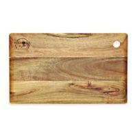 Big Leaf Acacia 15-Inch x 9-Inch Cutting Board in Natural