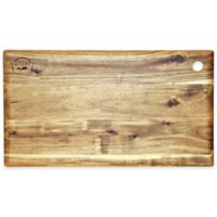 Big Leaf Acacia 18-Inch x 10-Inch Cutting Board in Natural