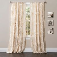 Avon 84-Inch Rod Pocket Window Curtain Panel in Ivory