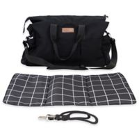 Mountain Buggy® Double Satchel in Black/White