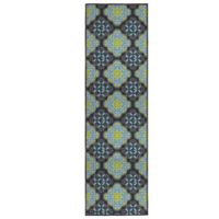Olivia Structures 1-Foot 8-Inch x 5-Foot Accent Rug in Blue/Green