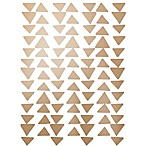 Glenna Jean Twiggy Gold Linear Triangles Vinyl Decals