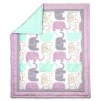 The Peanut Shell® Little Peanut Reversible Quilt in Lilac