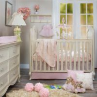 Glenna Jean 3-Piece Cottage Rose Crib Bedding Set in Pink