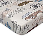 Lolli Living™ by Living Textiles Aeroplanes Fitted Crib Sheet