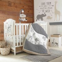 LevtexBaby® Animal Sketch 4-Piece Crib Bedding Set
