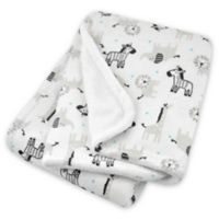 Just Born® Animal Print Plush Blanket